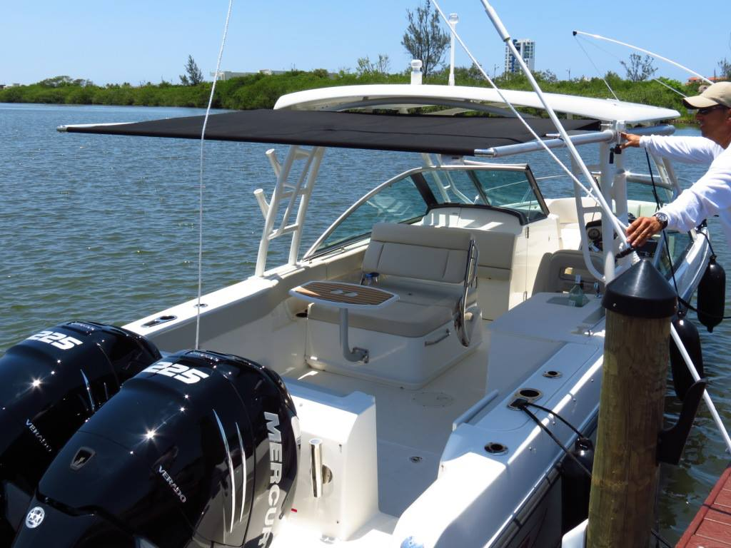 Mtf Manual Boat Shade Sureshade Wiring A From Scratch Boston Whaler 270 Vantage Aftermarket 9