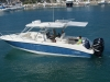 Boston Whaler 320 Cuddy Cabin - aftermarket MTF shade