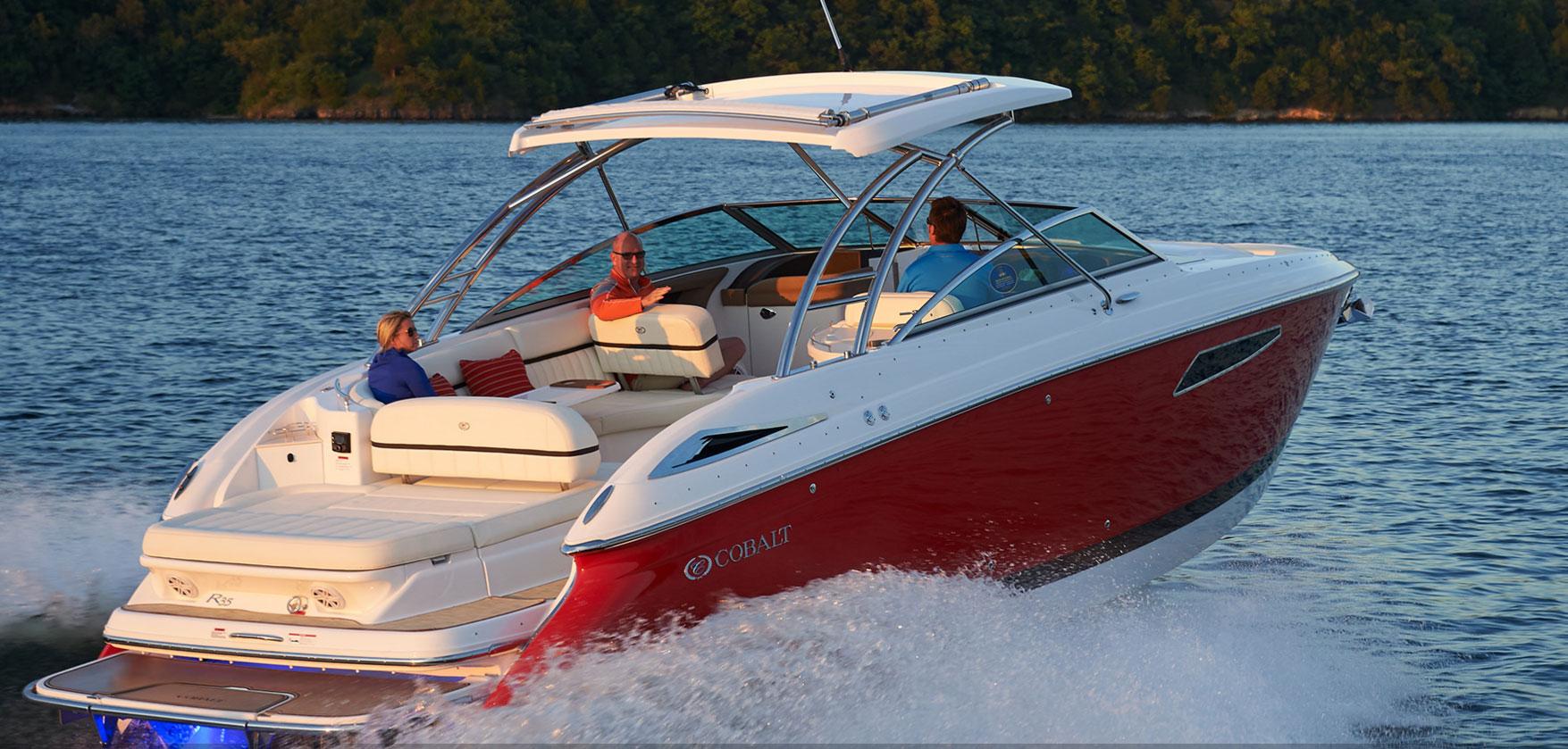 cobalt boats sureshade rh sureshade com Cobalt Deck Boat Cobalt Deck Boat