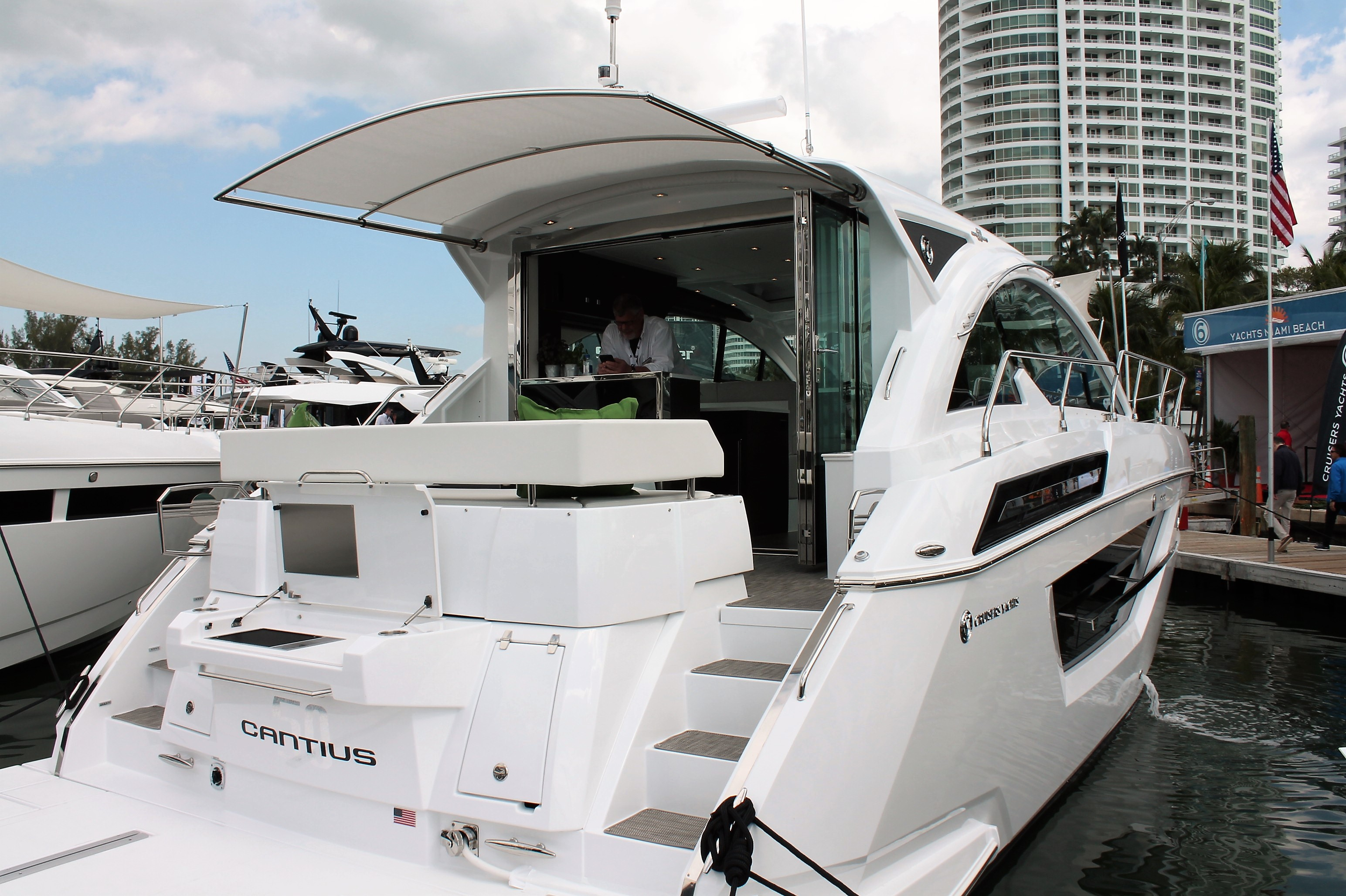 sureshade hits milestone of 100 boat models in miami