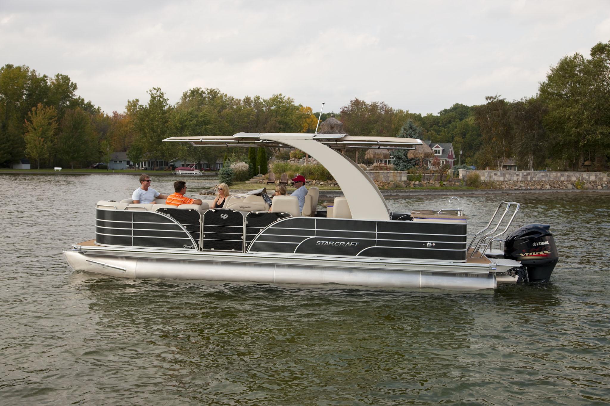 Pontoon Boats Sureshade