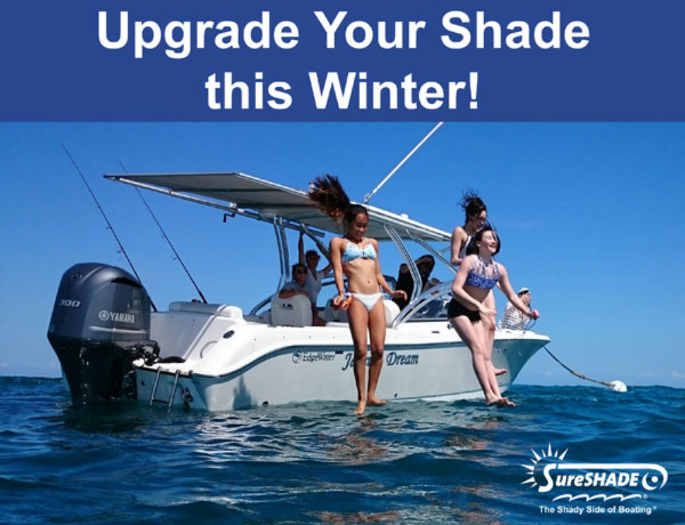 3 Sunshade Options to Upgrade Your Boat Shade this Winter