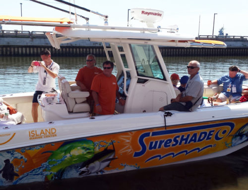 SureShade Partners with NMMA for Day on the Water DNC Event in Philadelphia