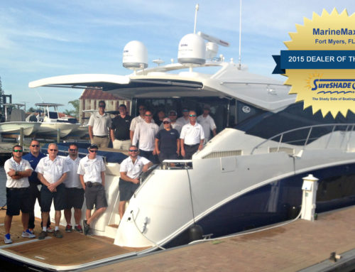 MarineMax Fort Myers Wins SureShade 2015 Dealer of the Year Award