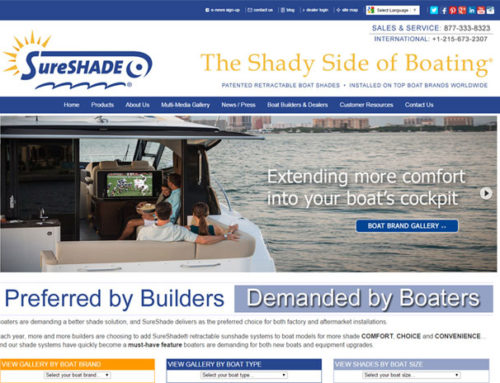 SureShade Launches New Responsive Website Design
