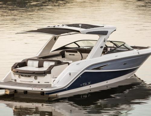 New 2016 Sea Ray 310 SLX with Shade Option