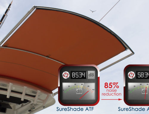 SureShade ATF-SG Boat Shade Silent Glide Technology for 85% Noise Reduction