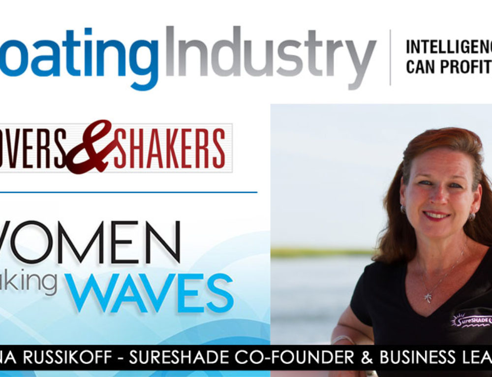 SureShade's Dana Russikoff Named 2016 Boating Industry Movers & Shakers Finalist