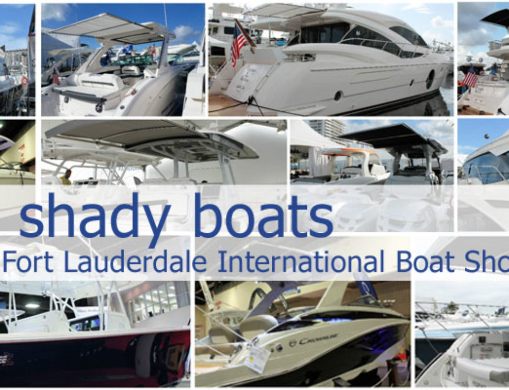 20 New SureShade-Equipped Boats Debut at 2016 Fort Lauderdale Boat Show