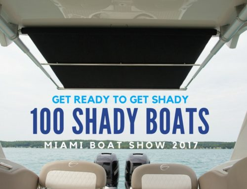 SureShade Hits Milestone of 100 Boat Models in Miami