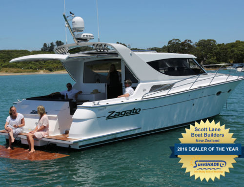 Scott Lane Boat Builders Wins SureShade 2016 Dealer of the Year Award