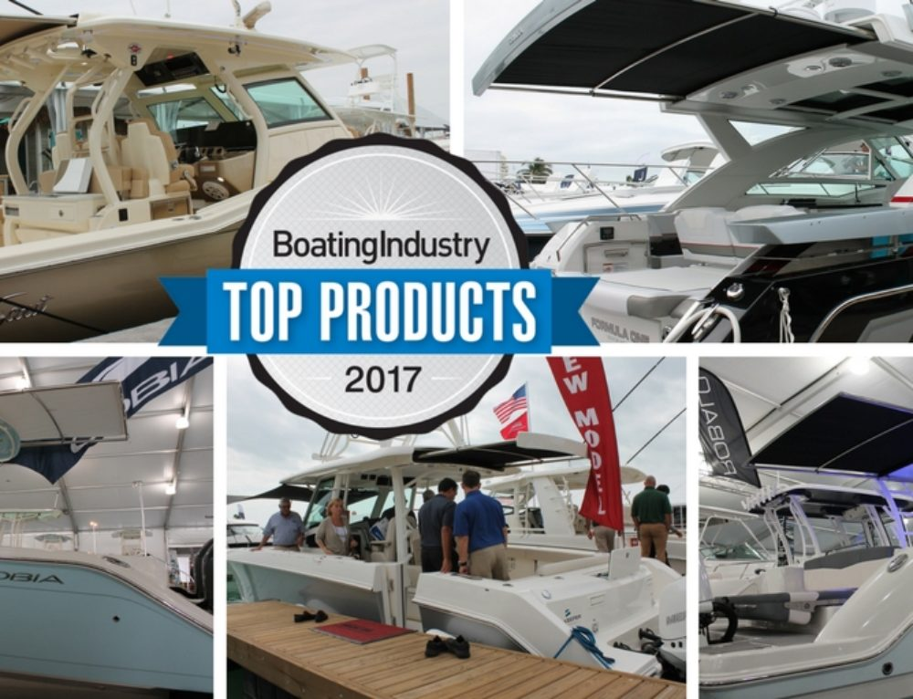 SureShade Featured on 5 Boating Industry 2017 Top Products