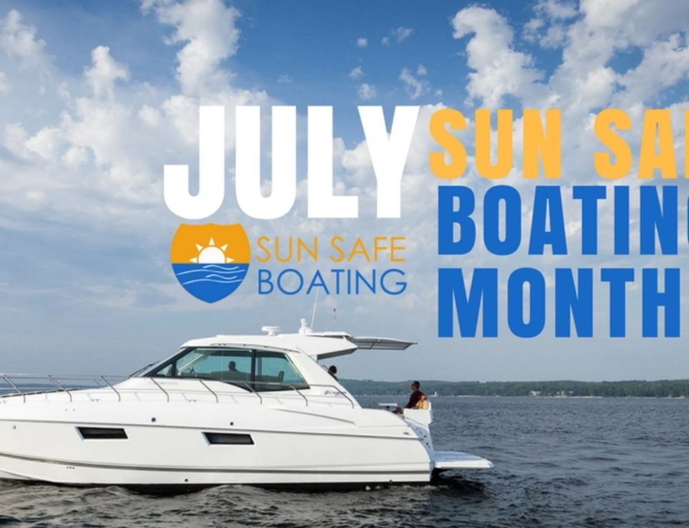 July Designated as Sun Safe Boating Month