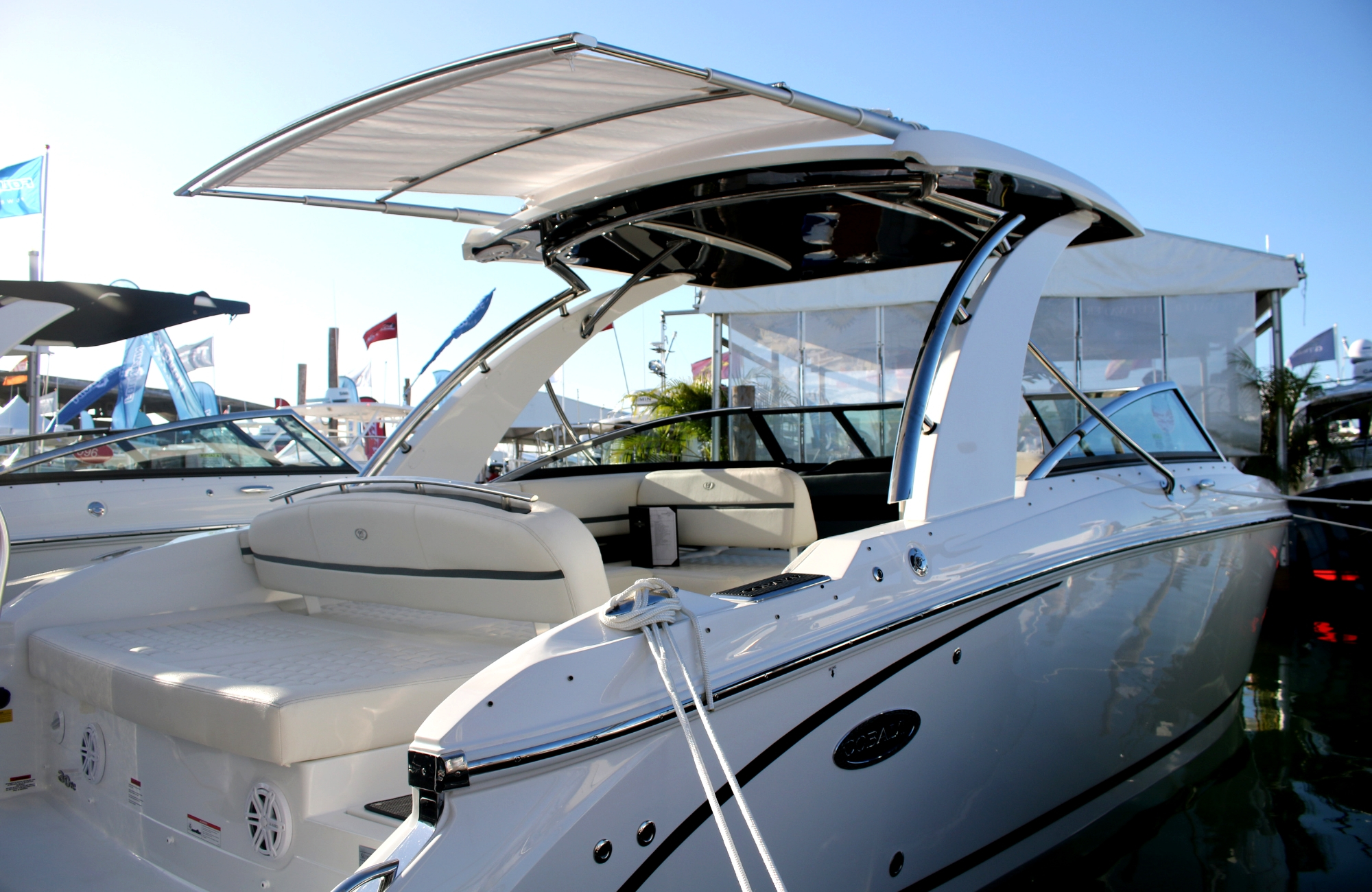 SureShade Celebrates 10 Years and Over 150 Boats at Miami