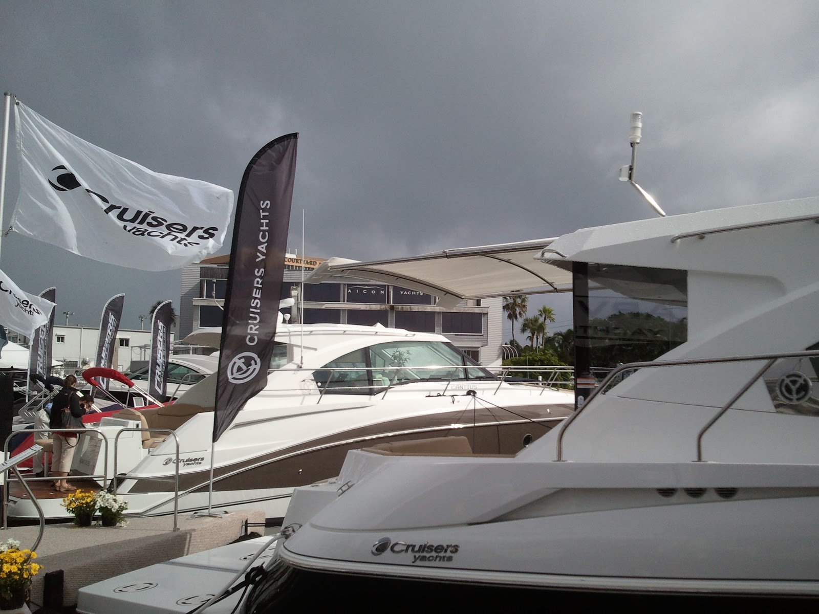 Fort Lauderdale Boat Show Displays 9 Boats With Sureshade