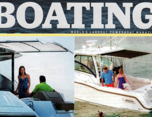 Boating Magazine April 2013 Spotlights Boats with SureShade