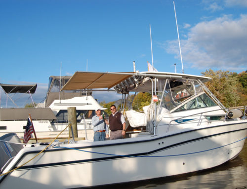 Grady-White Marlin Owner Improves Boat Value with Sunshade