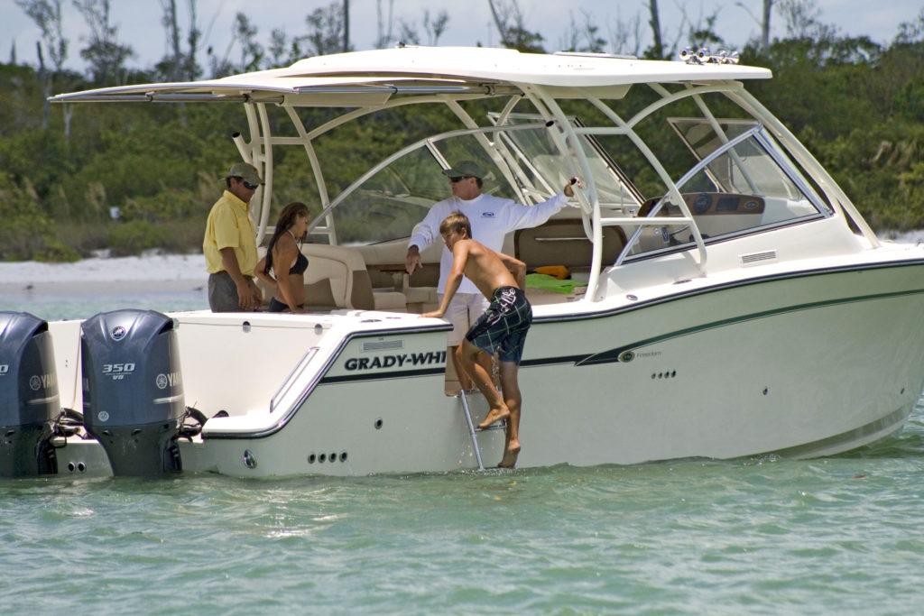 Grady-White Boats   SureShade