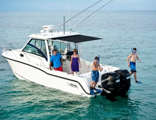 Custom Boat Shade to Differentiate Boat Lines