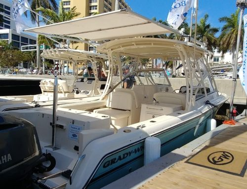 Grady-White Retrofits Boat Models to Add SureShade Option