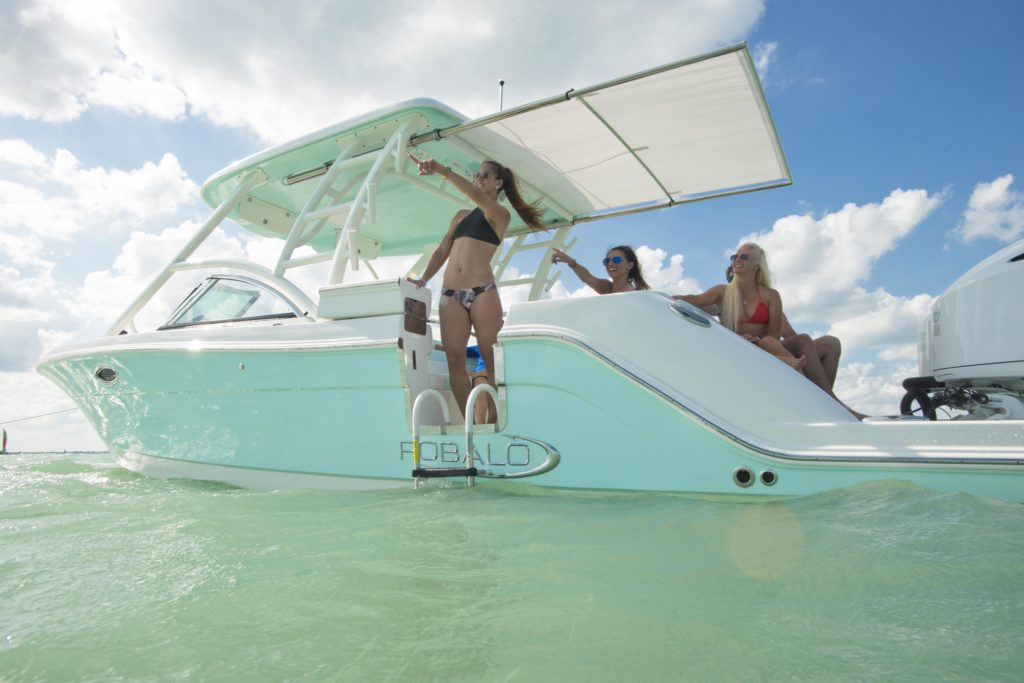 07f4953ce From retractable canvas for sunbathing or shade to using the latest marine  technology features