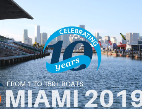 SureShade Celebrates 10 Years and Over 150 Boats at Miami 2019
