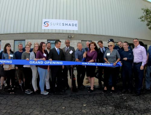 SureShade Opens Expanded Facility on Manufacturing Day