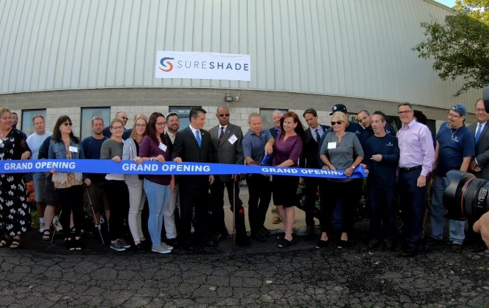 sureshade new facility